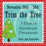 I am part of a Trim The Tree Series today!
