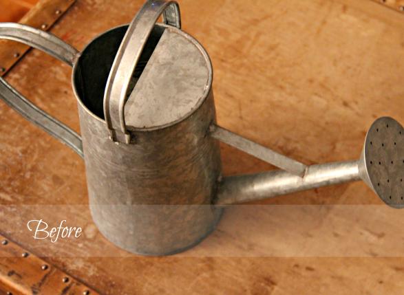 DIY Watering Can Craft via Crafty Scrappy Happy