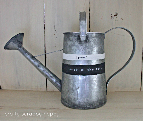Watering Can up cycle